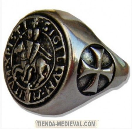96736c717b67 Anillo Caballeros Templarios Anillo De Caballeros
