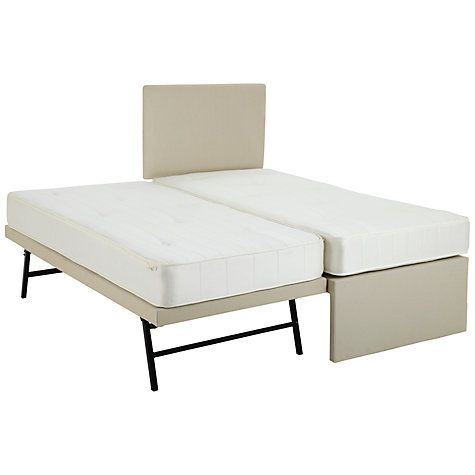 John Lewis Savoy Two Pocket Spring Trundle Guest Bed Small Single From Our Beds Range At