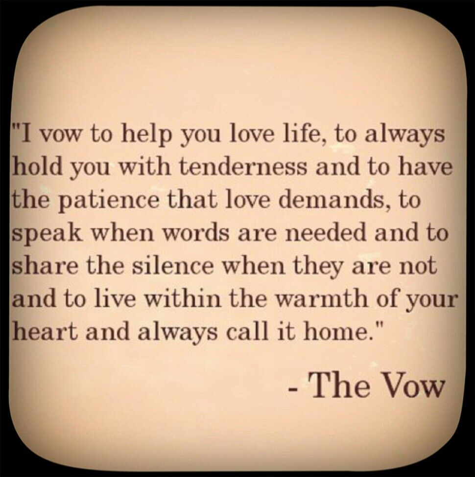 These words would make beautiful wedding vows... | Quotes ...