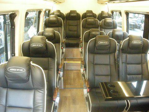 Luxery Mercedes Benz mini vans | The Minibus VIP of Mercedes-Benz