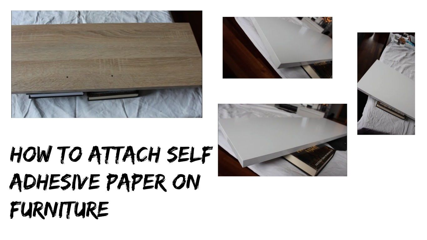 How I Attach Self Adhesive Paper On Any Furniture And Making It Like New All You Need Is Self Adhesive Paper Piece Of Vinyl Sticky Paper Furniture Adhesive