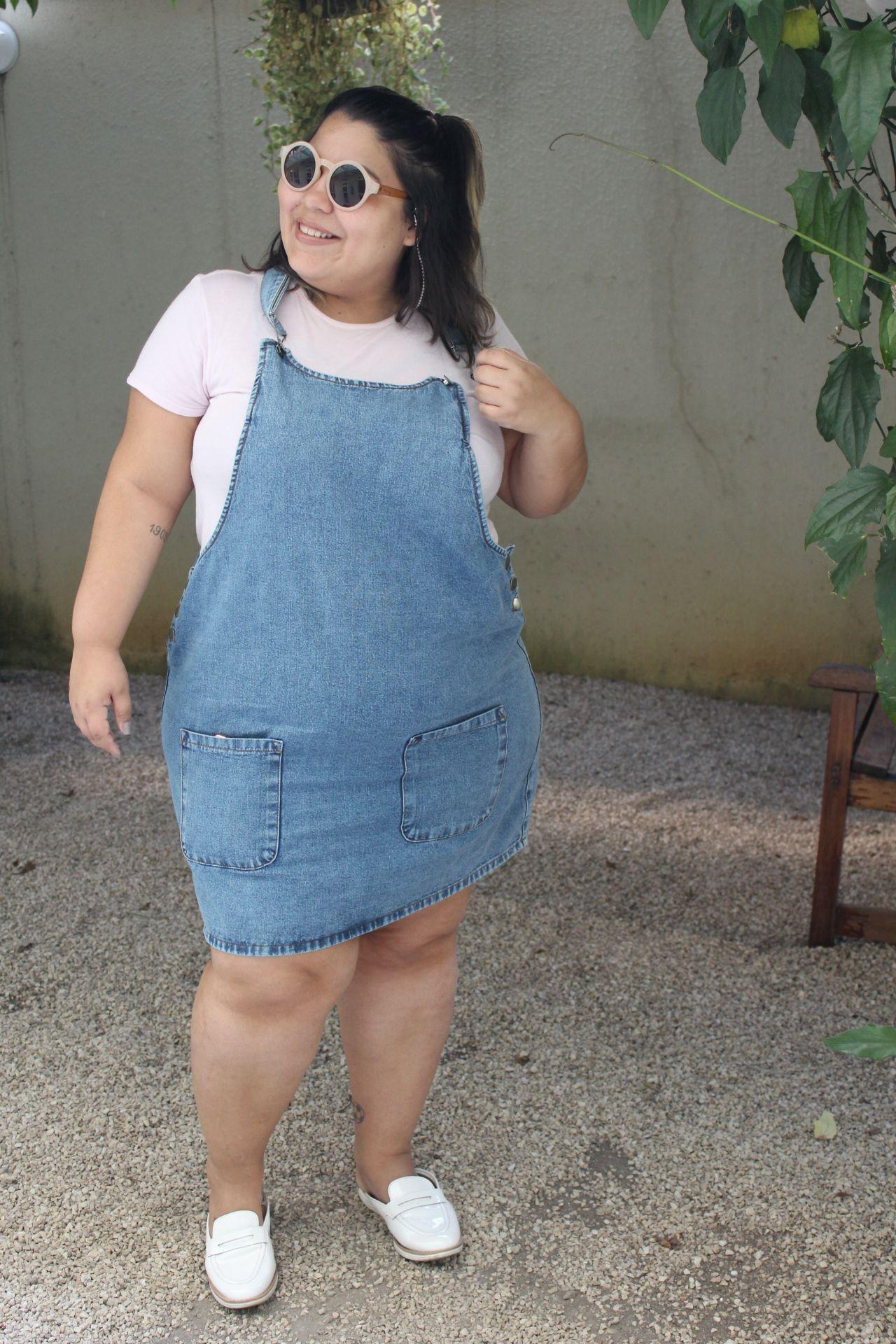 ca148dc6e Jardineira / Salopete Plus Size | moda e roupas em 2019 | Fashion ...