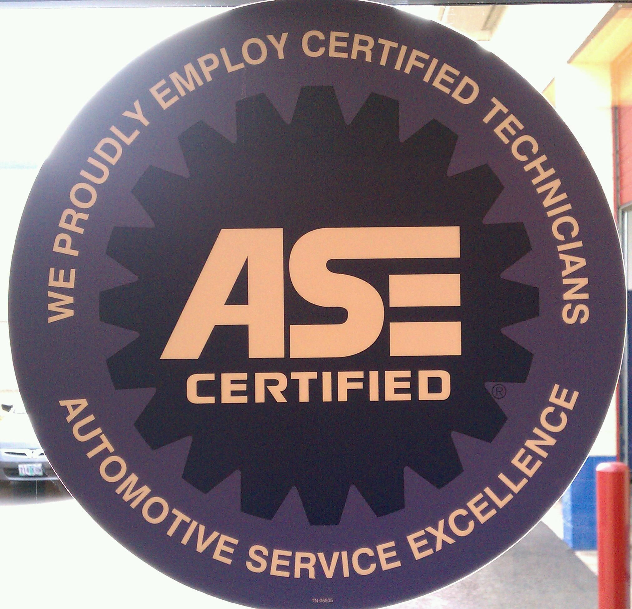 All Of Our Technicians Are Ase Certified Tigard Suv And Auto Repair