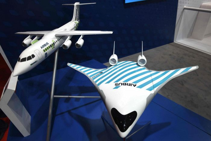 , SINGAPORE: Airbus SE yesterday unveiled a curvaceous aircraft design that blends wing and body, designed to slash carbon emissions by some 20%., Hot Models Blog 2020, Hot Models Blog 2020