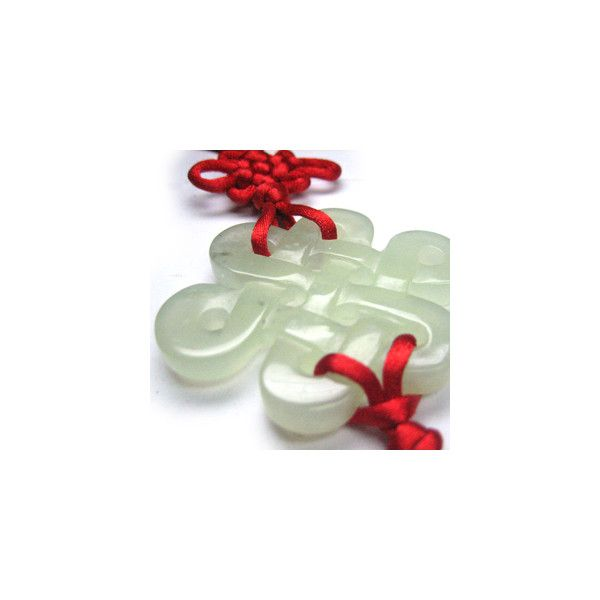 Jade Mystic Knot Feng Shui Cure Feng Shui Protection And Good Luck