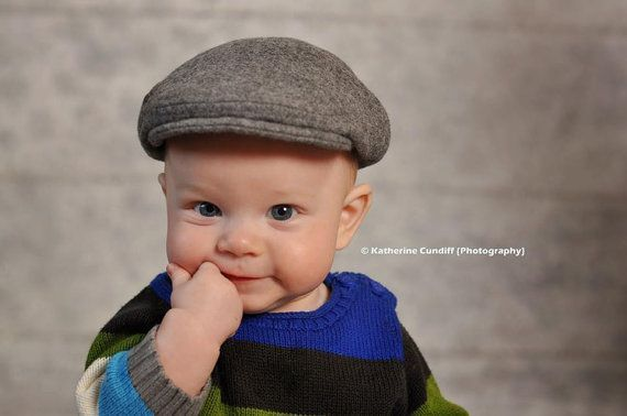 2f0c185c3 Heather gray wool hat winter baby hat winter photo prop for