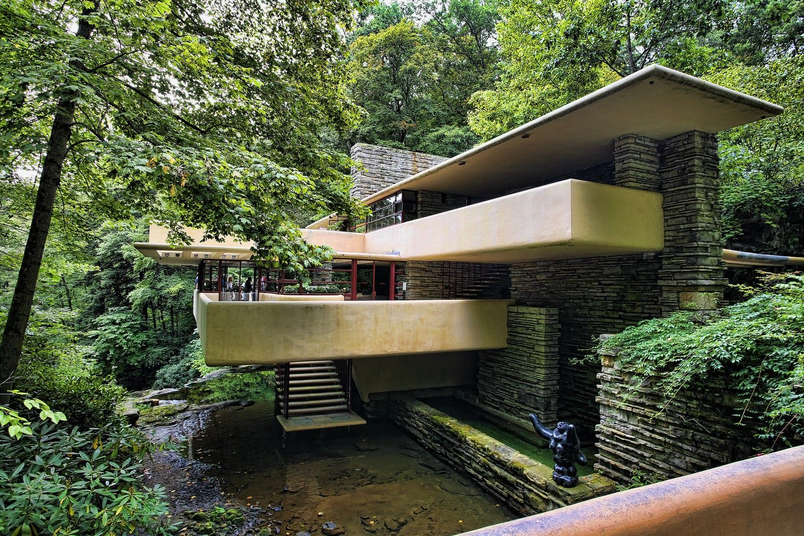 Frank Lloyd Wright 39 S Falling Water Photo By Chuck Kuhn