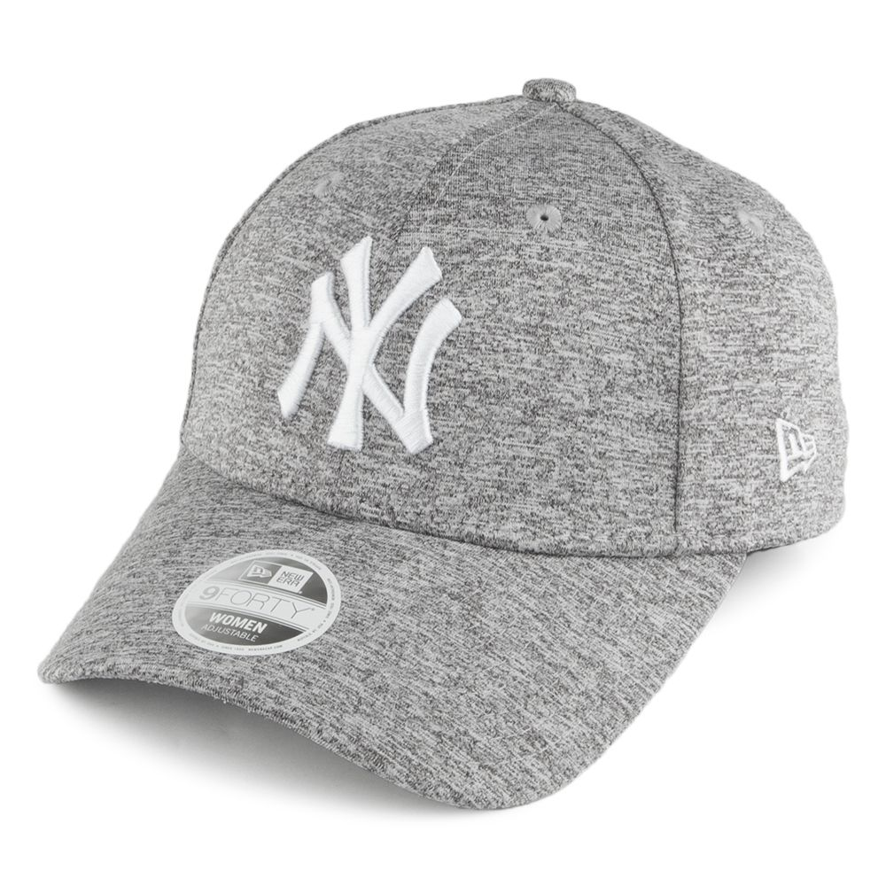 9Forty NY Yankees Adjustable Baseball Cap Jersey Mesh - Grey New Era 5DZrG