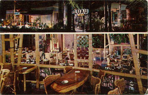 The Luau, Polynesian Restaurant, Beverly Hills CA