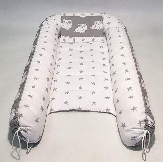 Nido de bebé de doble cara de colchón extraíble para recién nacidos, bebé, cama para dormir, nido de acurrucarse, nido de sueño, co-durmiente