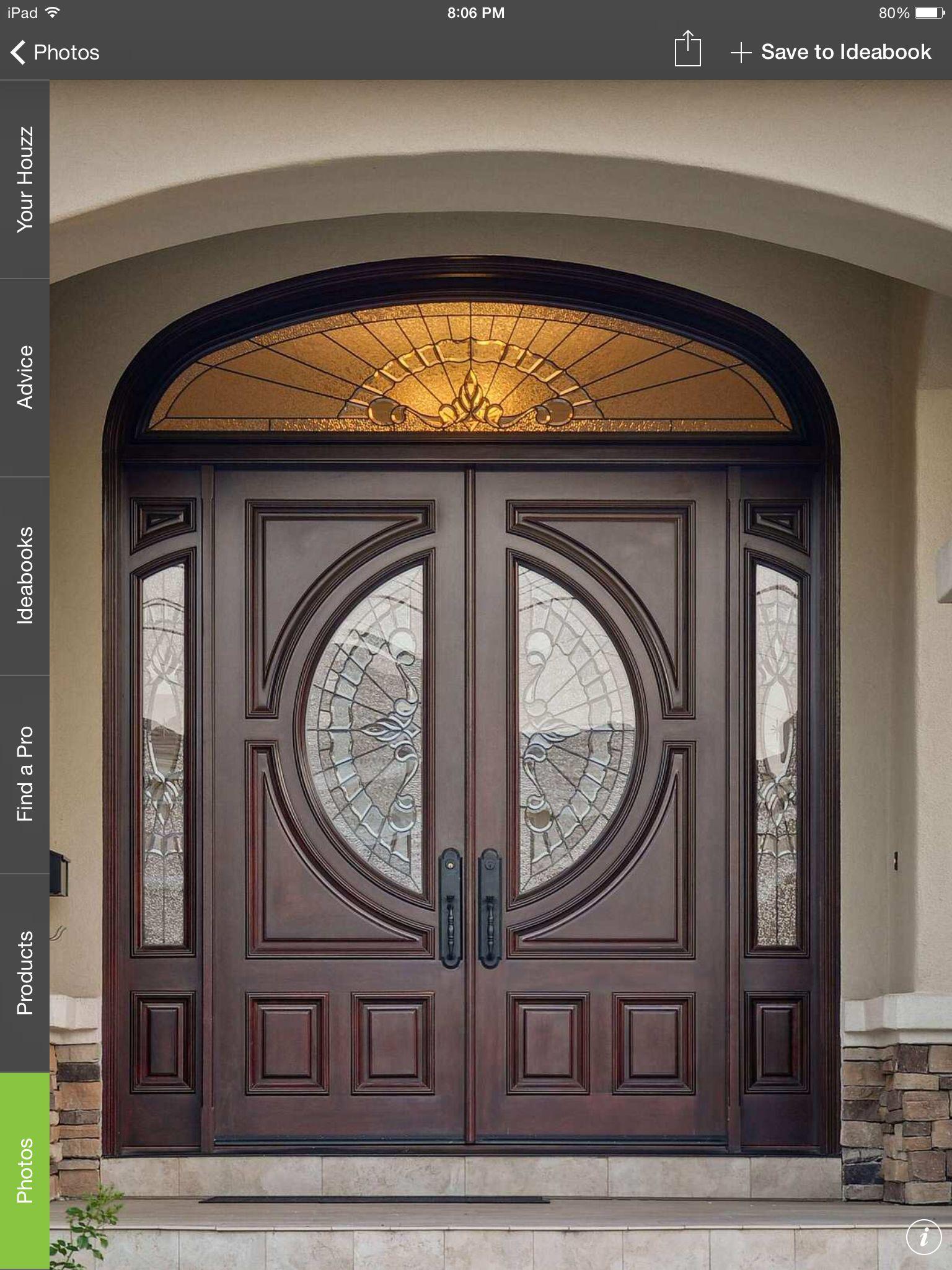 Front door for the home pinterest front doors doors for Main entrance door