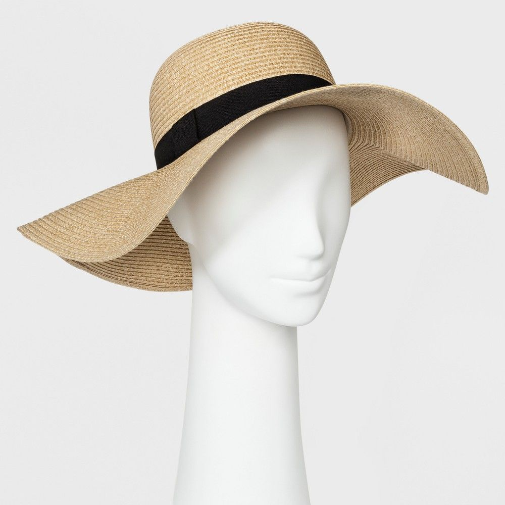 feccefb734170f Women's Floppy Hat - A New Day Tan, Size: Small in 2019 | Products ...