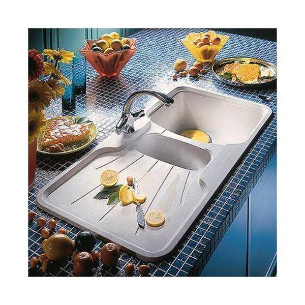 Astracast Korona 1.5 Bowl Reversible Drainer Granite ROK Kitchen ...