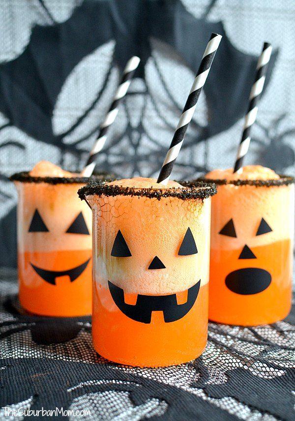 Halloween Pumpkin Punch Recipe - The Suburban Mom Halloween - fun halloween party ideas