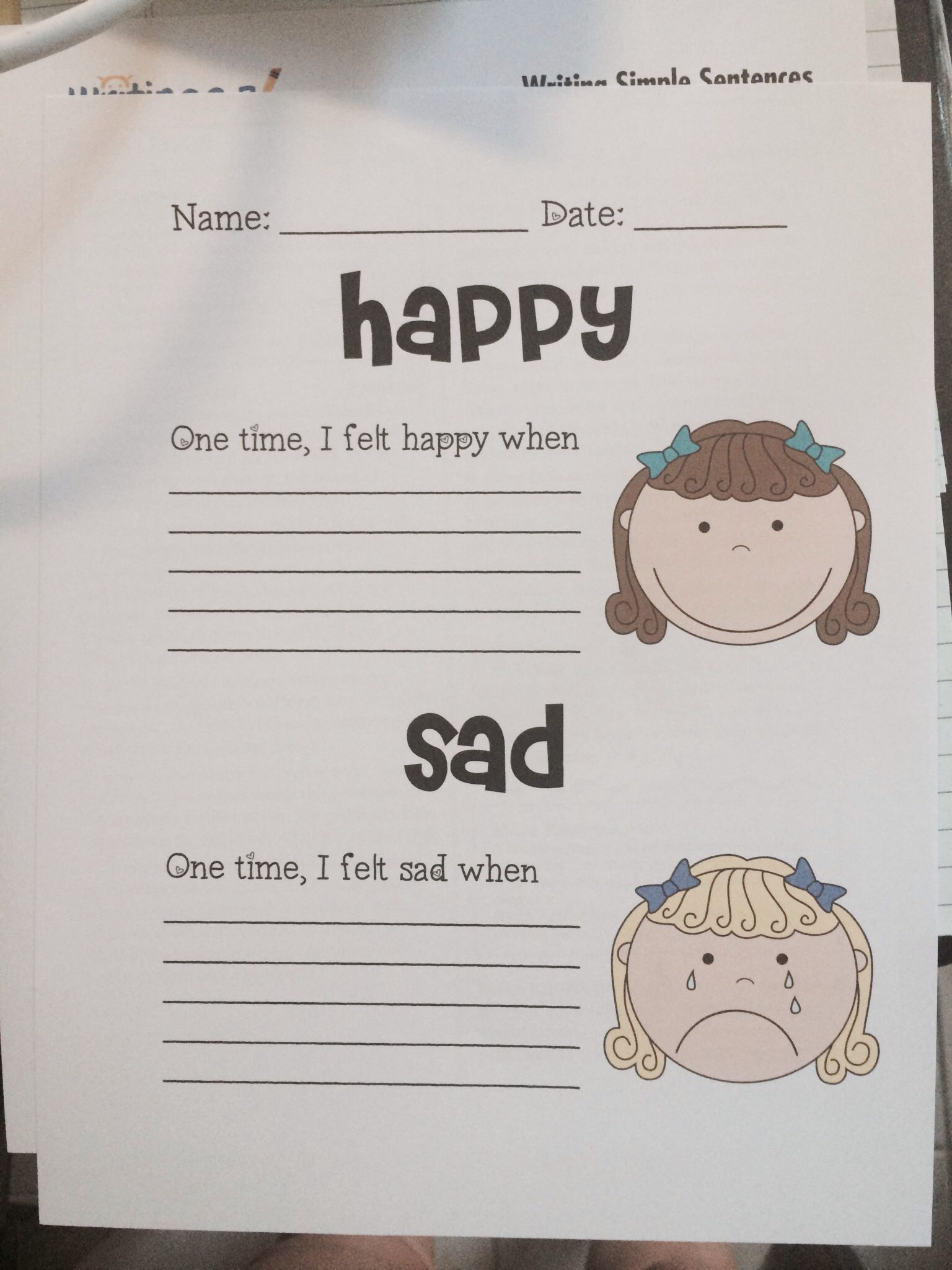 I Will Be Using This Worksheet I Made With Scrappin