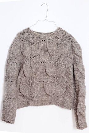 hot sale online bf6aa 2cceb Designer Pullover mit Zopfmuster stricken: Komplette ...