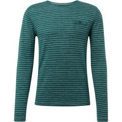 Photo of Tom Tailor Herren Gestreifter Strickpullover, grün, gestreift, Gr.S Tom TailorTom Tailor