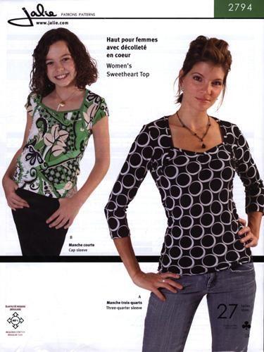 Jalie Ladies /& Girls Easy Sewing Pattern 2919 Pleated Cardigan /& Vest...