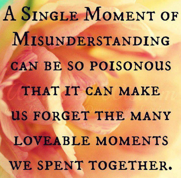 A Single Moment Of Misunderstanding Misunderstood Quotes Misunderstandings Illusion Quotes
