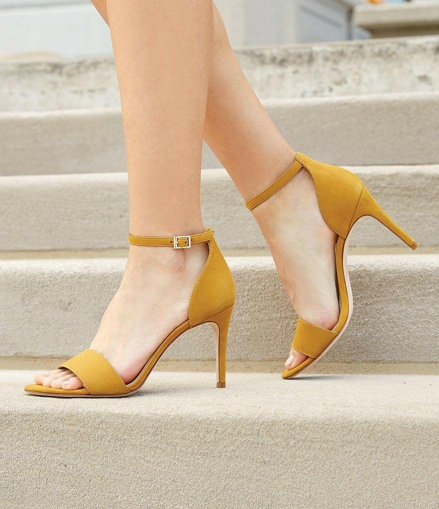25d5f6360669 Love yellow shoes. Antonio Melani Pierrson pumps.