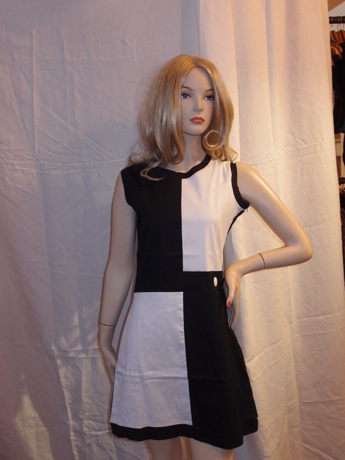 WOMENS RUN & FLY Mini Dress retro mod / mary quant