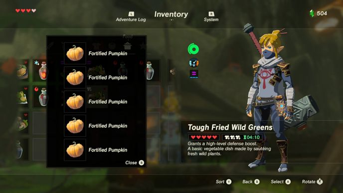 The 10 Best Recipes In Zelda Breath Of The Wild With Images
