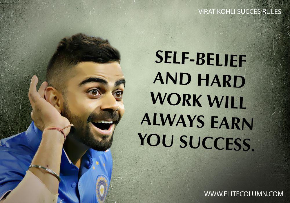 Happy Birthday Virat Quotes ~ 10 virat kohli success rules to inspire you to work harder virat