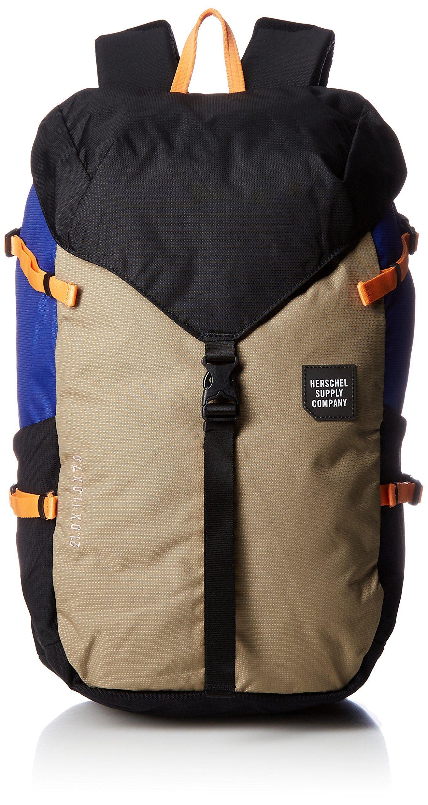 9be65b65c0d Herschel Supply Co. Unisex Barlow Large Black Brindle Surf The Web Backpack