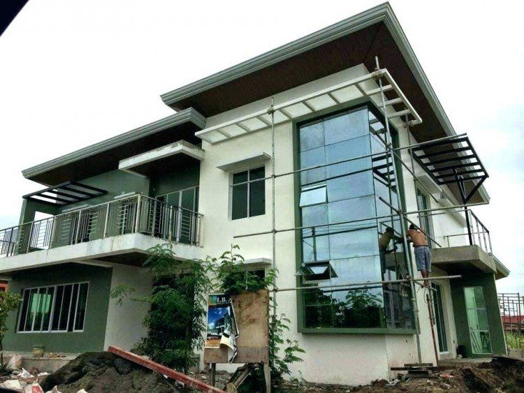 Small Two Story House Designs Philippines In 2020 House Design Pictures Two Story House Design House Plans With Pictures