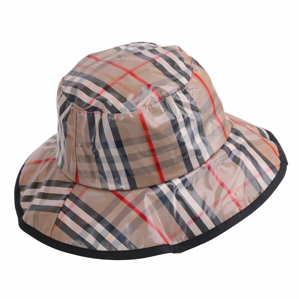 Women's Rain Hats Waterproof Rain Hat Wide Brim Bucket Hat Rain Cap  Foldable ... #lanliebao