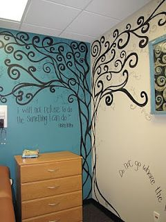 Tree Wall Mural   I Like This. Maybe Add Family Tree Type Names Here And