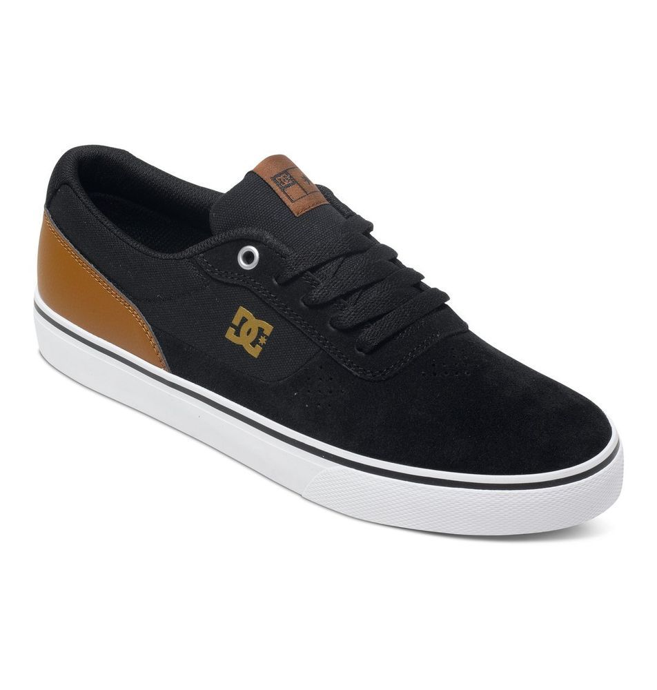 best sneakers ad189 fd348 Zapatillas Sneakers Mens DC Shoes Switch S Black Brown White (XKCW)  ADYS300104