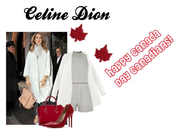 """""""Canadian legendary icon: Celine Dion"""" by fashionstylez ❤ liked on Polyvore featuring Non, River Island and Givenchy"""