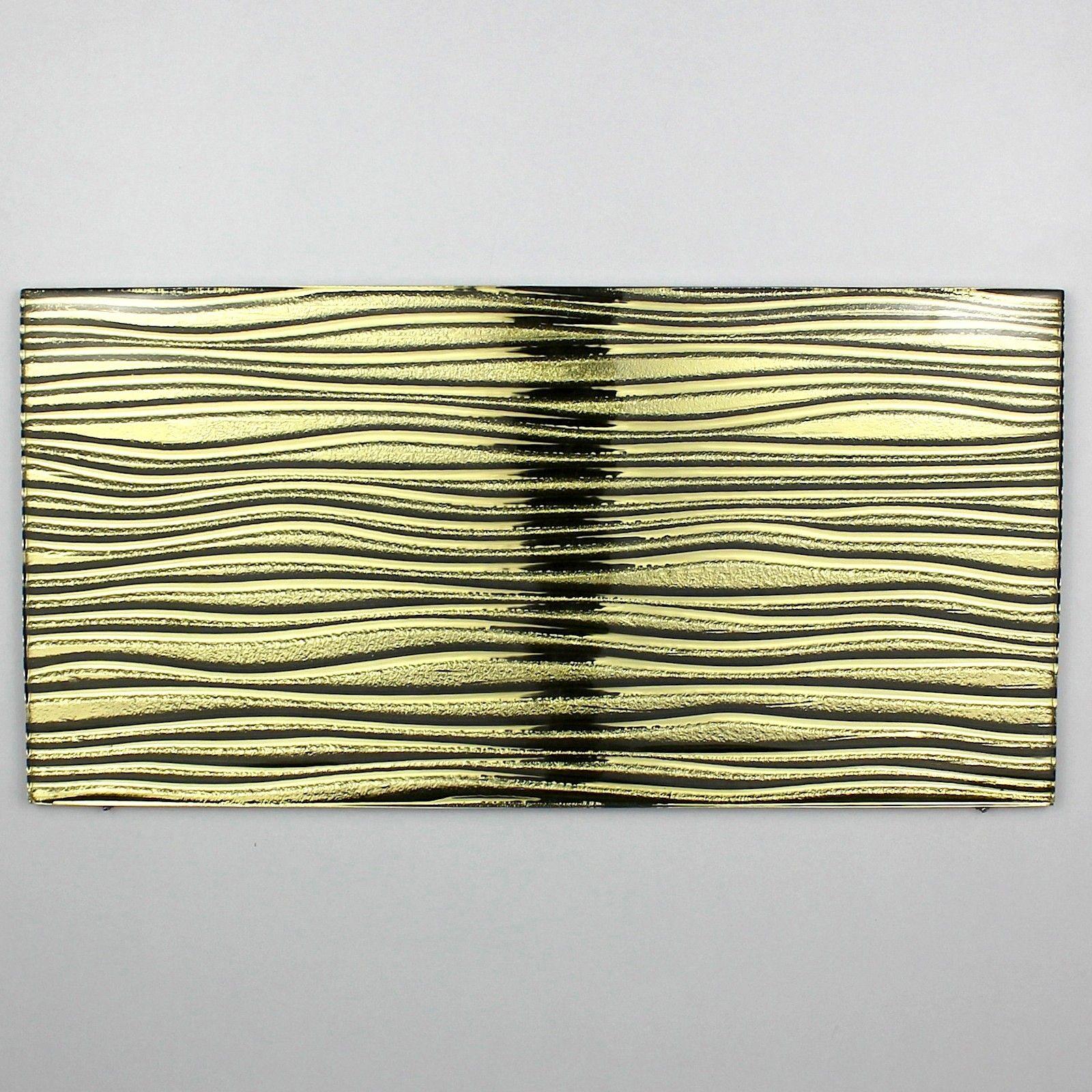 carreaux en verre métallisé crédence cuisine arco or 5,90 € http