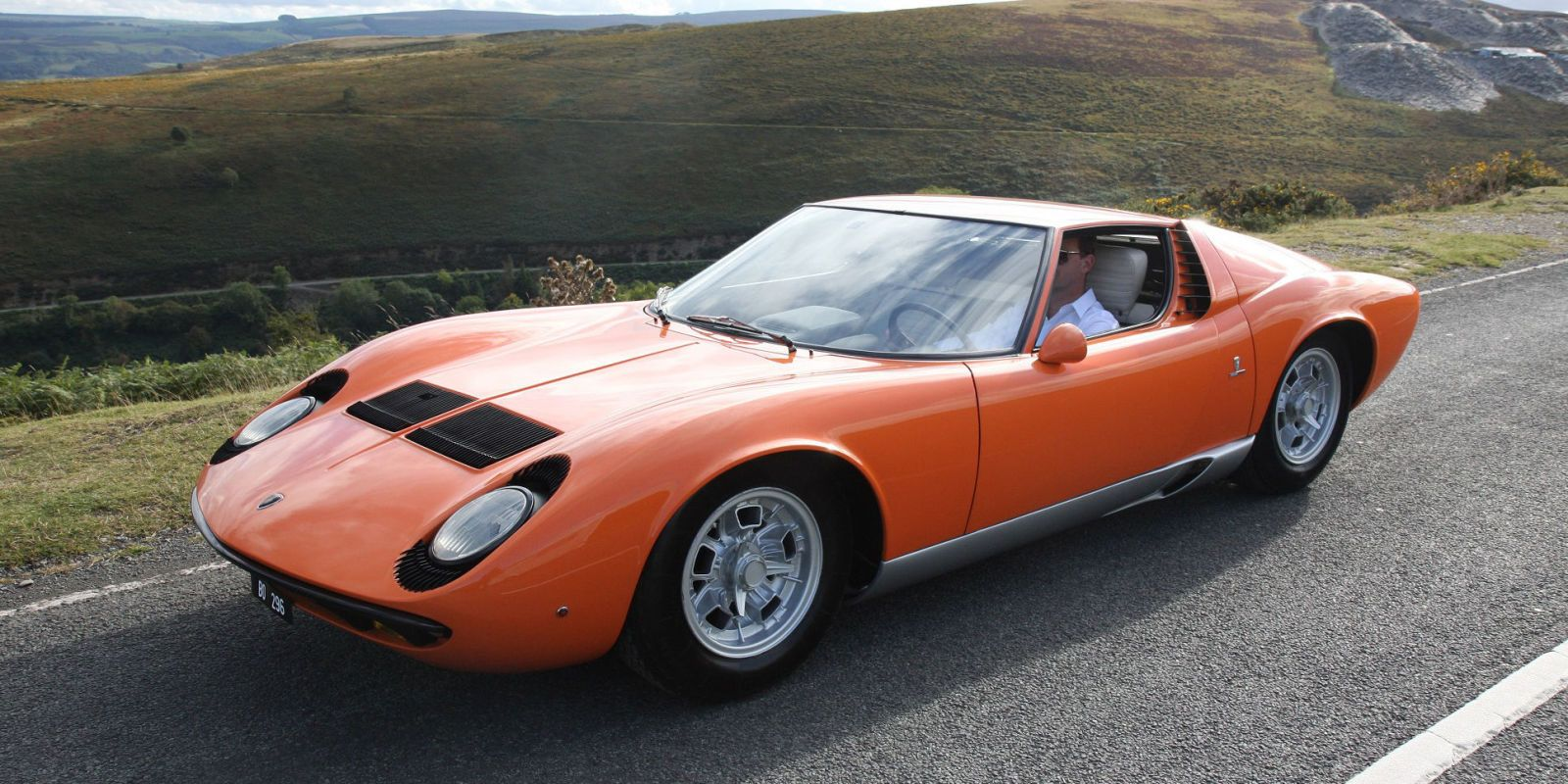 Lamborghini Miura From The Italian Job Is For Sale Lamborghini