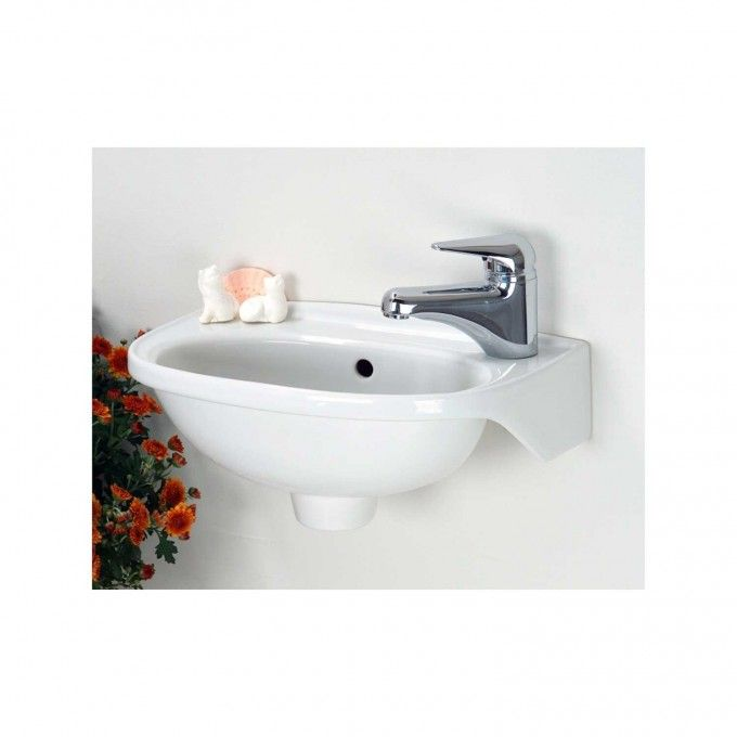 Tina Small Wall Hung Sink With Images Tiny Bathroom Sink
