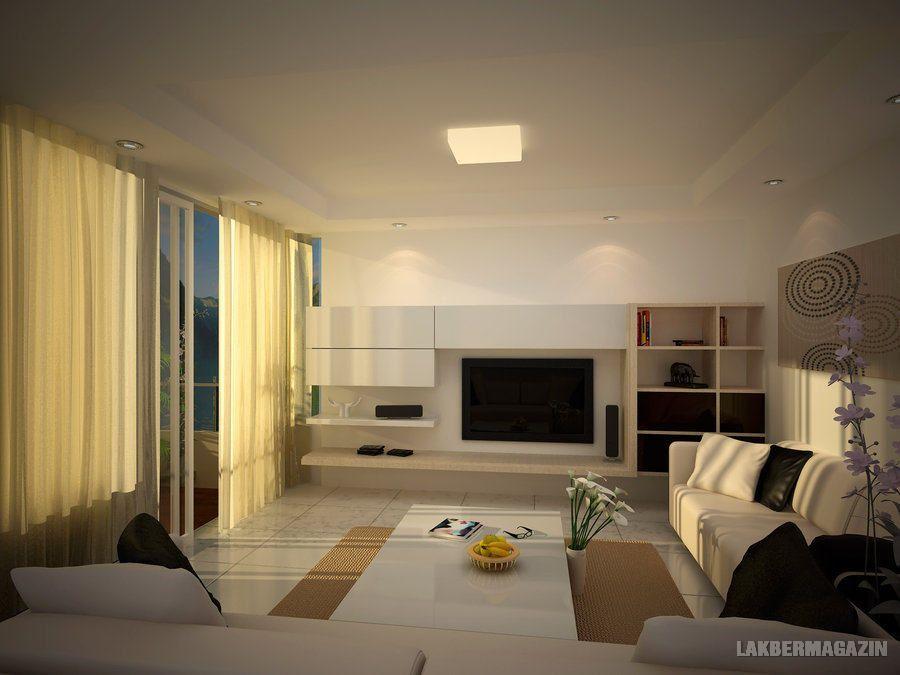 lágy semleges - nappali szoba lakberendezési ötletek ...