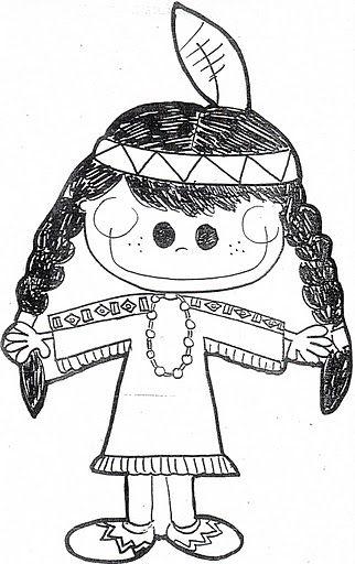 malvorlagen indianer zum ausdrucken englisch