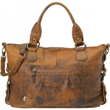 Tote Leather Design Sac Slouch Jungle Oioi Langer Marron À XWSnqxwvT