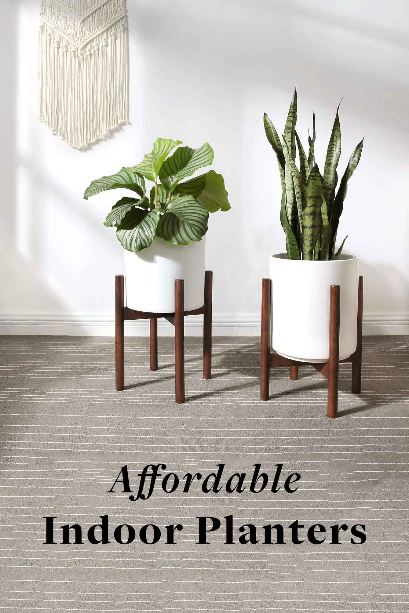 Affordable Indoor Planters Modern Plant Stand Plant Stand Indoor Planter Stand