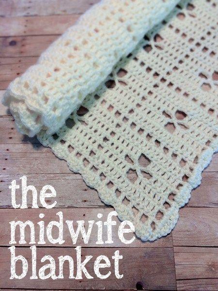 The Midwife Blanket (Free Pattern!) | Decken, Gehäkelte babydecken ...