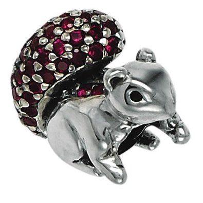 969a35934 pandora squirrel charm - Google Search | Squirrels | Beads, Squirrel ...
