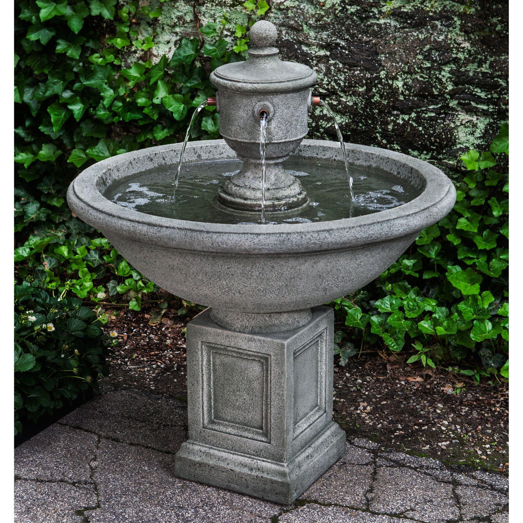 Rochefort Garden Water Fountain Concrete Fountains 640 x 480