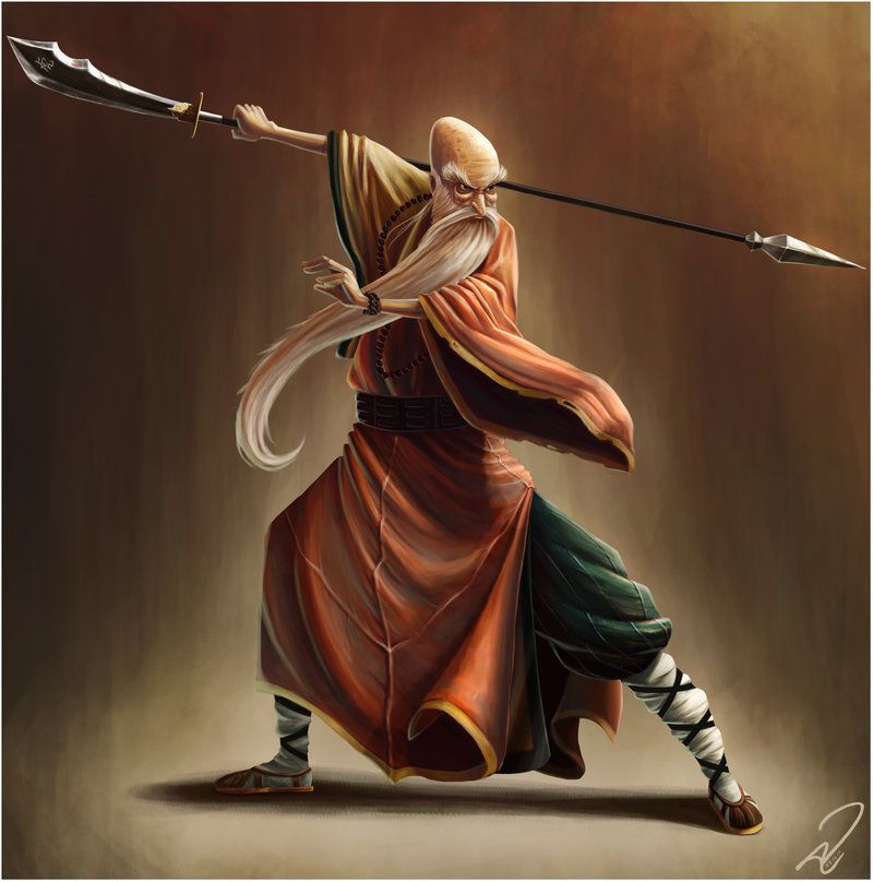 Old Shaolin Monk By Yandrk With Images Shaolin Monks Old Monk