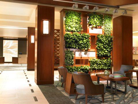 Vertical indoor gardens. #NatureInspired