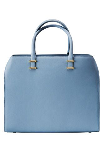 Powder blue is not just for newborn baby boys @HM  Square Bag, $39.95 #Style #Spring2014