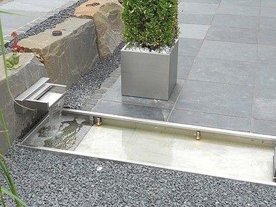 Das von uns konstruierte und gefertigte Wasserbecken aus ...