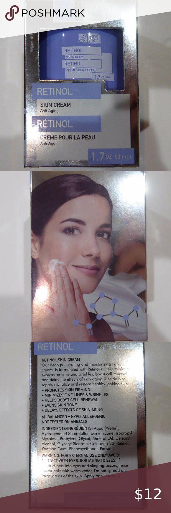 Global Beauty Care Retinol Anti Aging Cream Sealed Global Beauty Beauty Care Anti Aging Cream