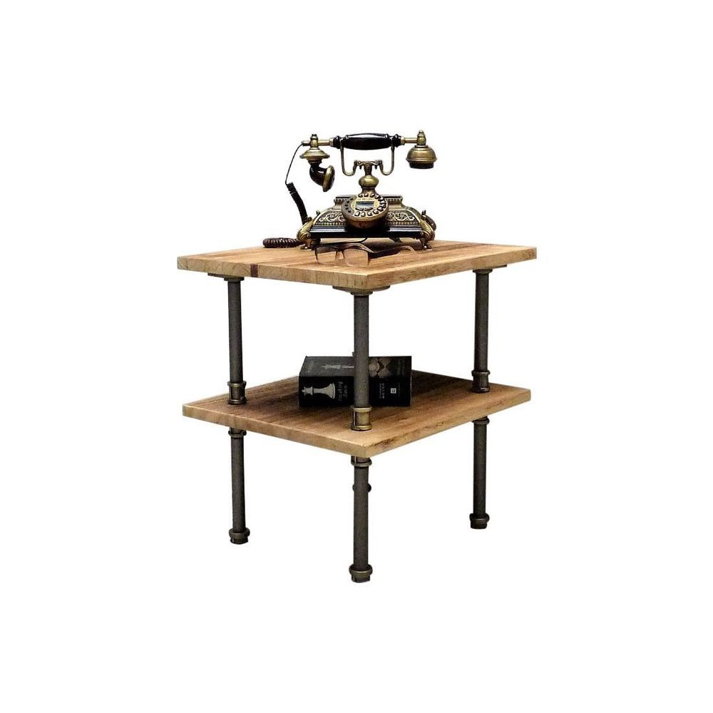 Best Corvallis Industrial Side End Table Night Stand Bedroom 400 x 300