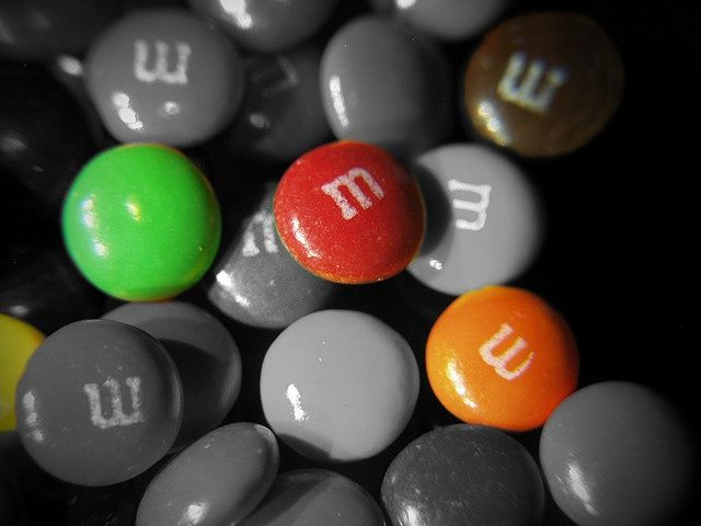 M&M's Selective coloring